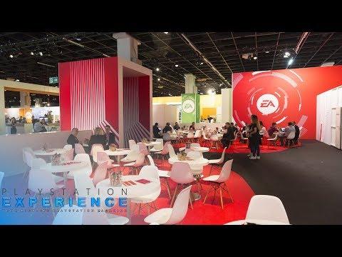 Gamescom 2017 Köln EA Business Lounge / EA Public Area