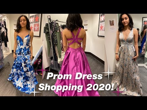 prom-dress-shopping-2020!