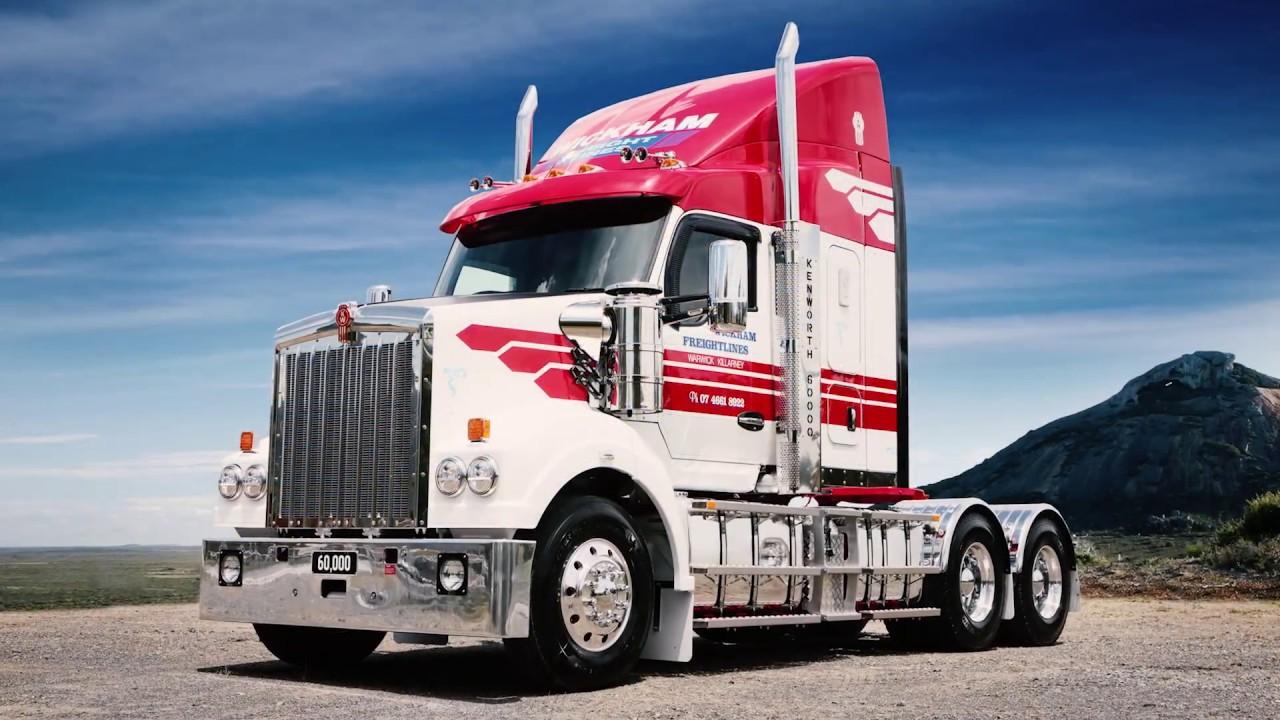60000th Australian Kenworth Trucks 2018 Youtube