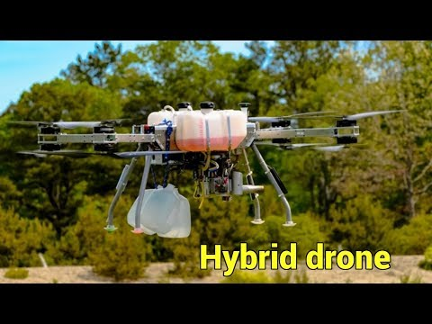 Hybrid drones carry heavier payloads for greater distances | QPT