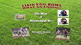 2019 Ole Miss Mississippi State One Hour