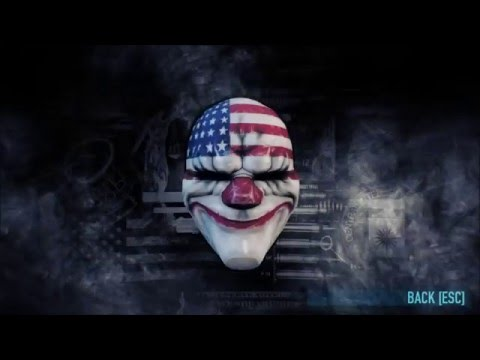 [Payday 2] Infamous masks!