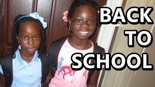 First Day Of School 2014-2015 | August 30th 2014 | DNVlogsLife