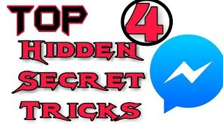 Best 4 Facebook Messenger Secret Tricks 2018 - Messenger Hidden Secret Trick - Hindi/Urdu