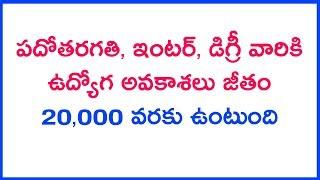 job mela in hyderabad job informaction today telugu job news    jobs update telugu