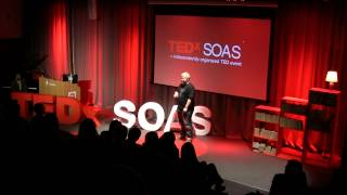 Refusing to acknowledge the neo-colonial gaze and penis: Art Mitchells-Urwin at TEDxSOAS