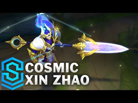 Cosmic Defender Xin Zhao Skin Spotlight - Pre-Release - League of Legends