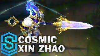 Cosmic Defender Xin Zhao Skin Spotlight - Pre-Release - League of Legends