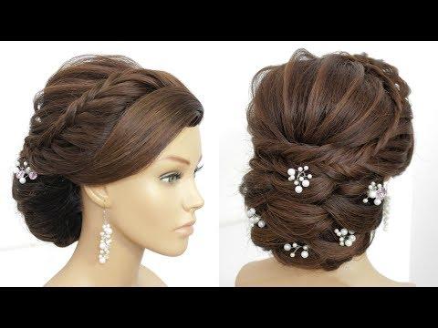 Bridal Updo Tutorial.  Wedding  Hairstyles For Long Hair thumbnail