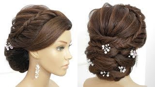 Bridal Updo Tutorial.  Wedding  Hairstyles For Long Hair