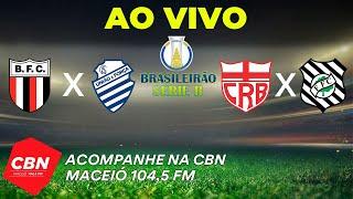 Botafogo SP x CSA   CRB x Figueirense - Série B brasileirão