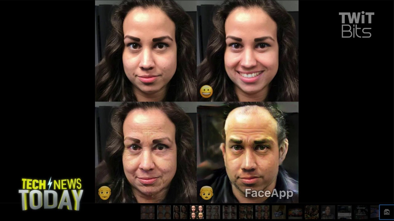 FaceApp Will Make You Smile