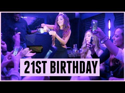 MY 21ST BIRTHDAY CELEBRATION!