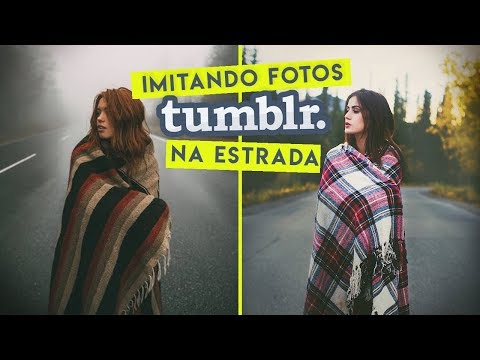 IMITANDO FOTOS TUMBLR NA ESTRADA! (ALASCA)