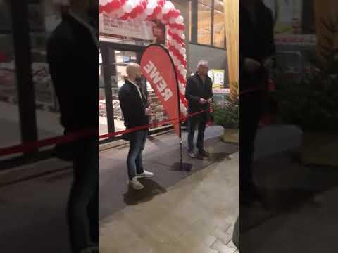 Eröffnung REWE in Sperenberg am 7.12.2018 um 7.00 Uhr