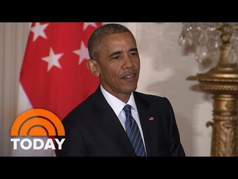 President Obama Calls Donald Trump 'Unfit To Serve'; Trump Calls Him 'Worst President' | TODAY