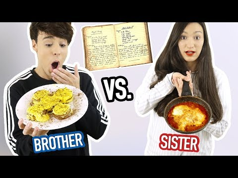 me & my sister followed our MOM'S RECIPES