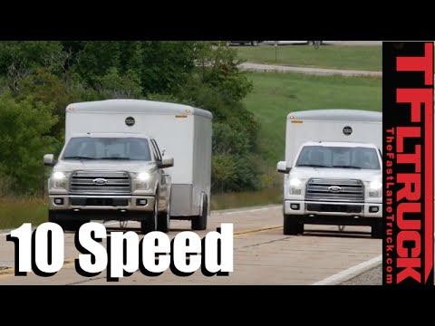 2016 vs 2017 Ford F-150 10-Speed 0-60 MPH Mashup Towing Review: How Fast is the Gen2 3.5L EcoBoost?
