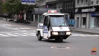 3-wheel scooter NYPD (compilation)
