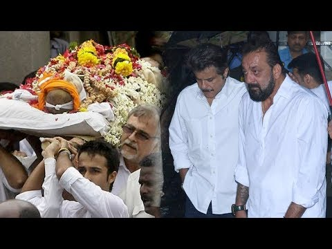 Sanjay Dutt And Anil Kapoor Pay Respect to Late Shashi Kapoor