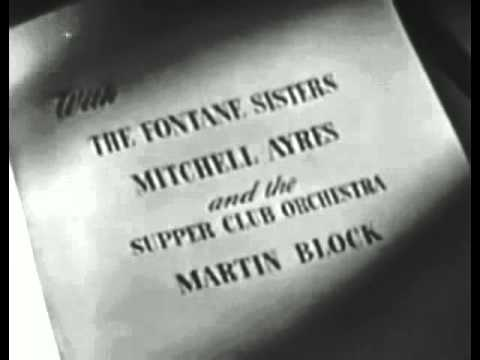PRIME TIME TV IN THE LATE 1940s