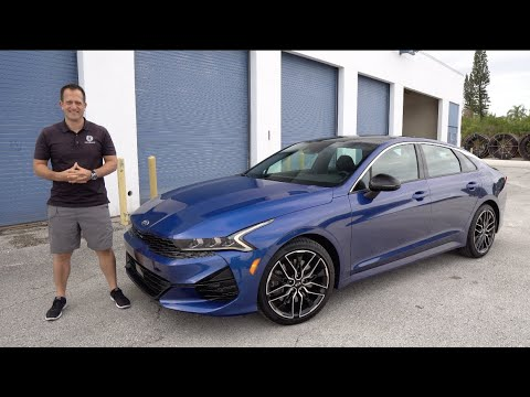 Download Is the NEW 2021 Kia K5 GT a BETTER sport sedan than a Camry or Accord?