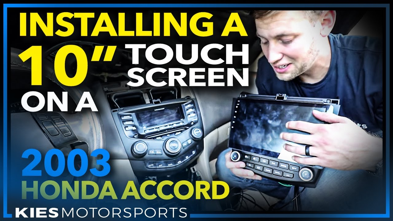 We Installed An Android  Inch Touchscreen In A  Year Old Honda Accord And Its Awesome