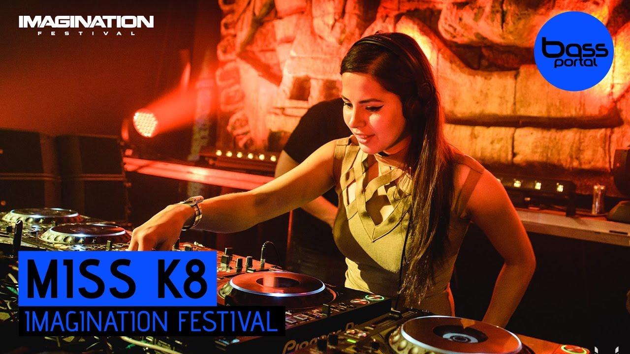 Miss K8 - Imagination Festival 2016 [BassPortal] #1