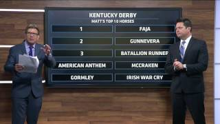Matt Reveals First 2017 Derby Top 10 Draft!