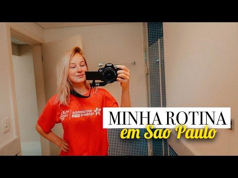 MINHA ROTINA MATINAL EM SÃO PAULO my morning routine