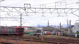115系しなの鉄道S23編成長野総合車両センター内移動①