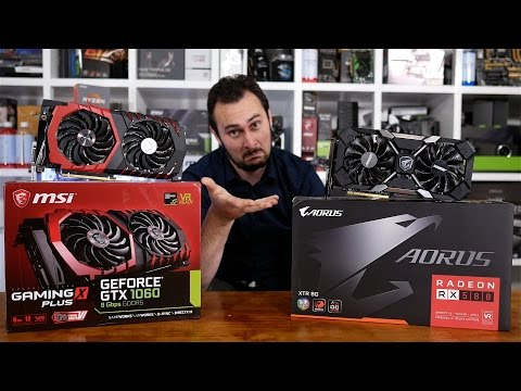 Can the RX 580 Dethrone The GTX 1060? Yep, We're Doing It Again!