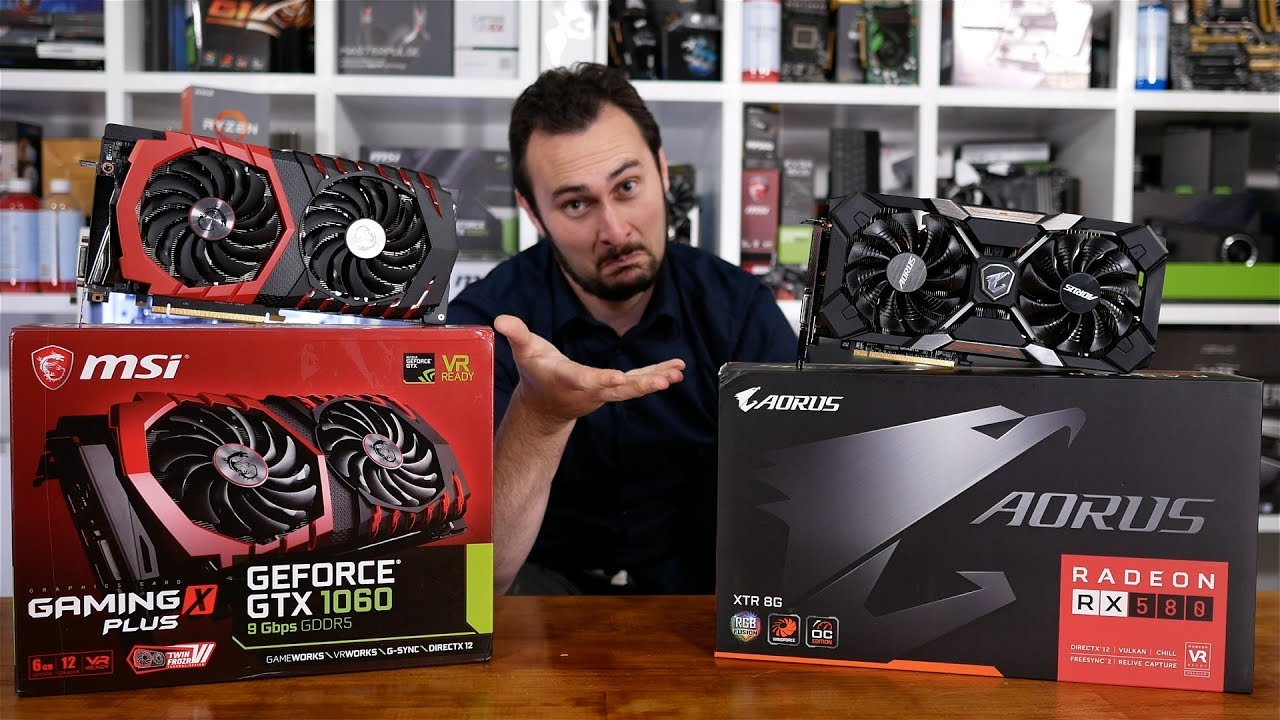 Can The Rx 580 Dethrone The Gtx 1060 Yep We Re Doing It Again