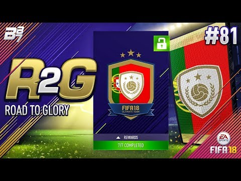 ROAD TO GLORY! KEY ICON UNLOCKED AND BIG PAYOUT!! #81   FIFA 18 ULTIMATE TEAM