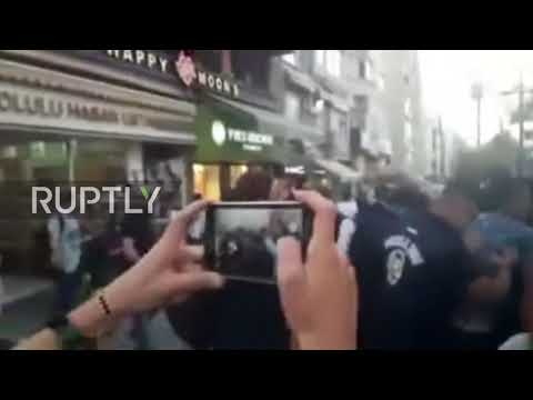 Turkey: Clashes and arrests in Istanbul as protesters demand release of jailed academics