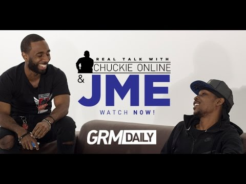 Chuckie Online & JME Sit Down For Rare In Depth Interview [Part 1 - Real Talk With Chuckie Online]