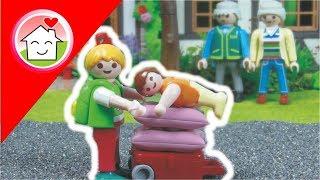 Playmobil Film deutsch Ü̈bernachten bei Oma / Kinderfilm / Kinderserie von Familie Hauser