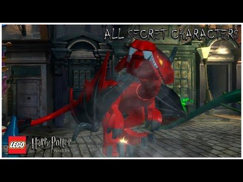 LEGO Harry Potter: Years 1–4 - ALL SECRET CHARACTERS (Part 3) - NPC