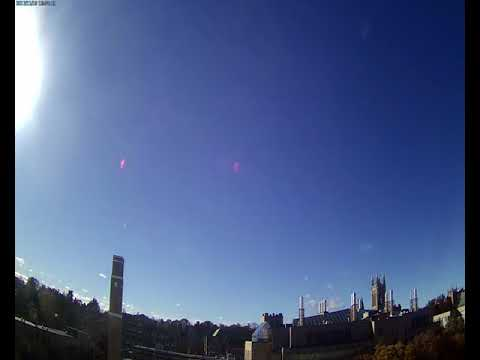 BC Gasson Sky Camera 2017-11-19: Boston College