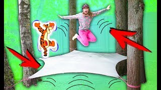 Trampolines OF FILMS ON TREE LAYERS Challenge 1000 | elli Di