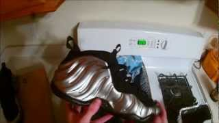 Pewter Foams With Dyed Black Soles and How to Dye Your Soles!