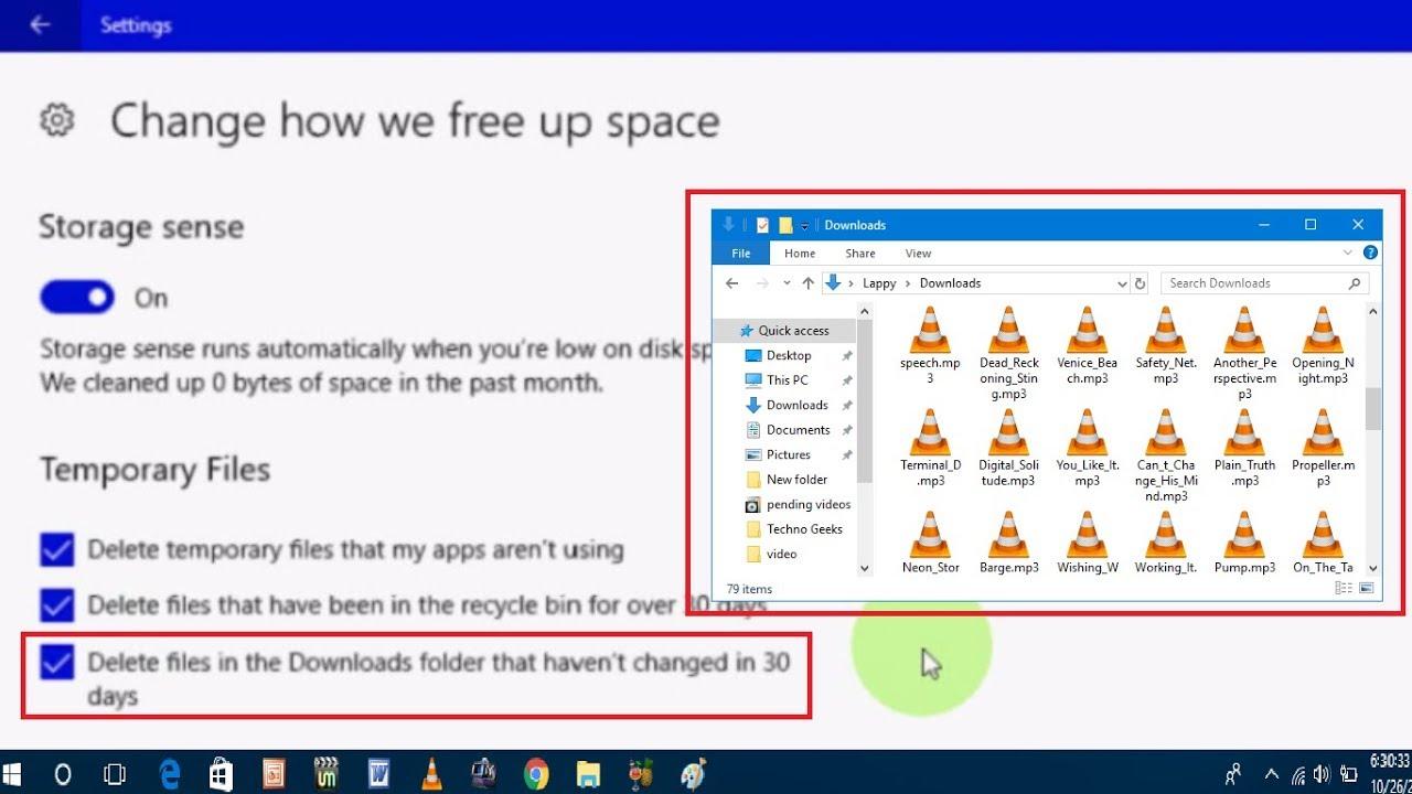 Cách Đặt Để Tự Động Xóa Tệp Trong Thư Mục Tải Xuống Trên Windows 10 - AN PHÁT