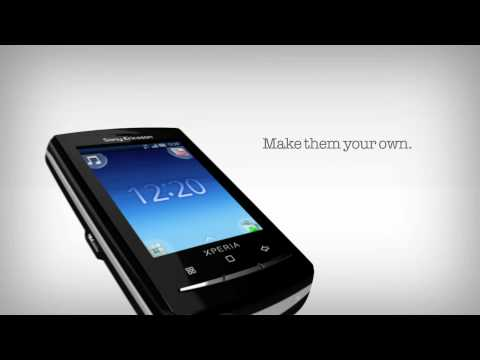 Sony Ericsson Xperia™ X10 mini pro retail video update