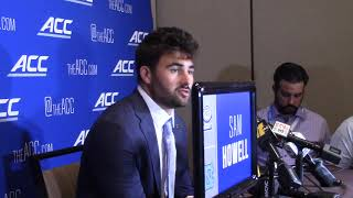 THI TV: Sam Howell 2021 ACC Kickoff Interview
