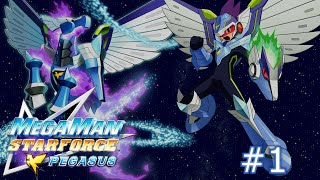 Mega Man Star Force: Pegasus - Part 1: No Regrets For Our Hero(ine)