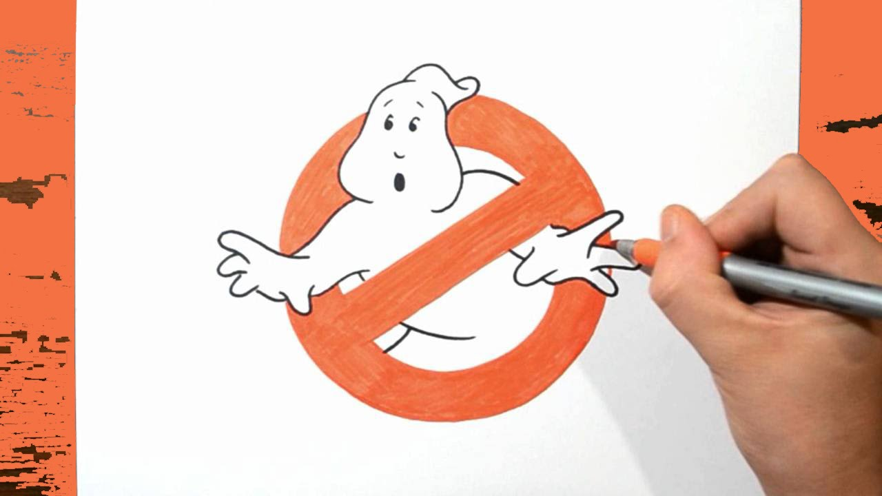 Learn How To Draw Ghostbusters Logo Step By Step Youtube