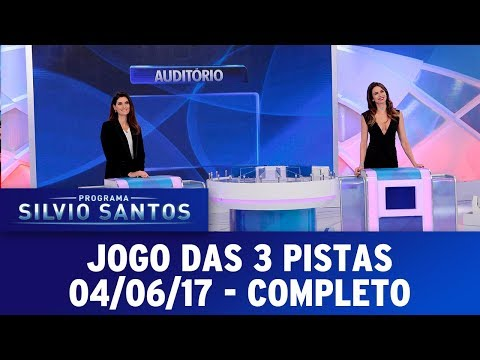 Jogo das 3 Pistas | Programa Silvio Santos (04/06/17)