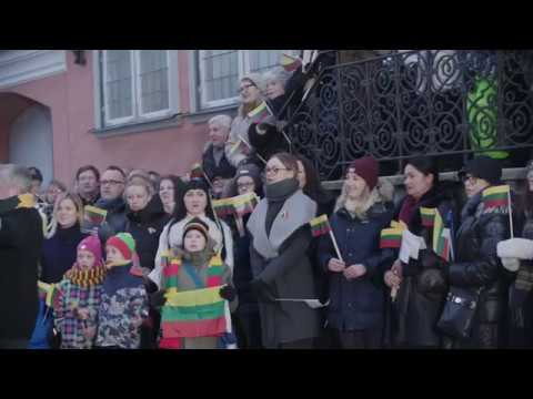 Estonia celebrates the Centennial of the restored Lithuania