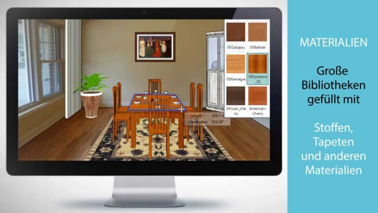 ARCHLine Interior Virtual Staging - YouTube