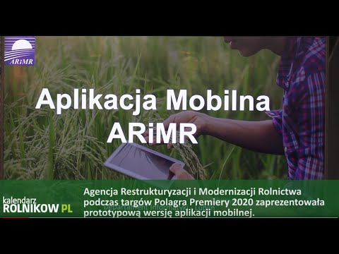 ARiMR i aplikacja na smartfony